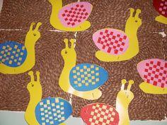 Technikák | Printker ♕ Kreatív Ötletek Blogja ✂ | Page 13 Quick Crafts, Creative Crafts, Diy And Crafts, Crafts For Kids, Arts And Crafts, Snail Craft, Bug Crafts, Sunday School Crafts, Animal Crafts
