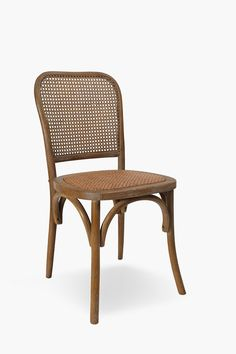 Rattan Weave Dining Chair - Shop New In - Furniture - Shop Woven Dining Chairs, Dining Room, Outdoor Wood Furniture, Wood Crosses, Rattan, Weaving, Shopping, Home Decor, Wicker