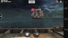 Fight in real-time naval battles all over the Caribbean Sea Caribbean Sea, Mobile Game, Assassins Creed, Pirates, Battle, Games, Movie Posters, Film Poster, Gaming