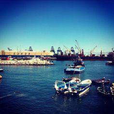 Puerto de San Antonio, Chile