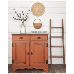 This is the most stunning roundup of 20 furniture makeovers done by the most creative and talented furniture artists out there! Chalk Paint Furniture, Furniture Projects, Furniture Makeover, Furniture Refinishing, Wood Furniture, Diy Projects, Painted Armoire, Painted Chest, Colorful Furniture