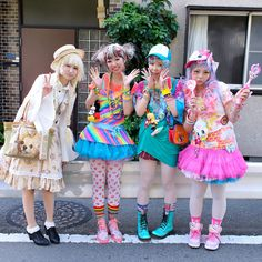 Harajuku Fashion Walk #17; kawaii, decora, fairy kei