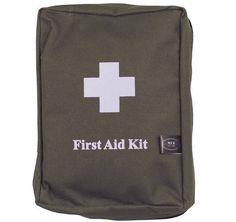 MFH Erste-Hilfe-Set, groß, oliv, MOLLE / mehr Infos auf: www.Guntia-Militaria-Shop.de