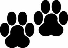 Image result for dog paw print draw