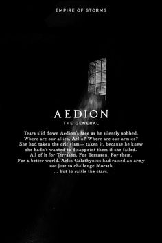 Empire of Storms - Aedion [Spoilers]