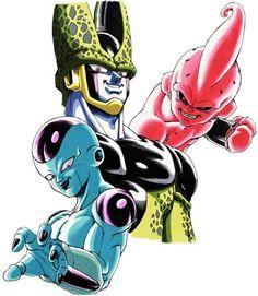 All dbz enemies Dragon Ball Gt, Majin Boo Kid, Desenhos Old School, Manga Anime, Anime Art, Manga Dragon, Ball Drawing, Anime Tattoos, Tatoos