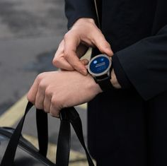 The Summit 2 Smartwatch offers some of the most technologically advanced watchmaking alongside a classic design. Experience the Summit Montblanc Summit, Android Wear, Wearable Technology, Mechanical Watch, Tag Heuer, Jewelry Watches, Men's Jewelry, Jewellery, Wood Watch
