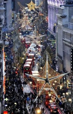 Christmas City... London Forever...