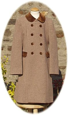 Childs traditional coat in chocolate check | Girls Traditional ...