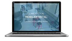 Création du site de l'artisan d'art Charles-Elie Patout, près de La Rochelle, en Charente-Maritime. http://www.conception-mobilier-metal.com/