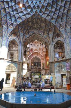 Der Bazar in Kachan ist einer schönsten Sehenswürdigkeiten im Iran