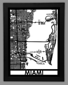 Miami - Cut Maps