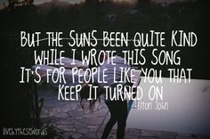 <3 song quote