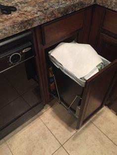 DIY Trashcan Cabinet