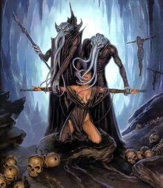 Fantasy - Surrealism - Other Art Fantasy Races, High Fantasy, Dark Fantasy Art, Fantasy Rpg, Fantasy Artwork, Dark Art, Fantasy Inspiration, Character Inspiration, Character Art