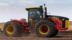 Special 50th Anneversary Versatile 550 4 wheel drive tractor
