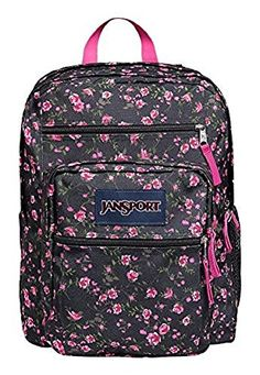 8705245a71a3 JanSport Big Student Classics Series Daypack - Pink Rose Ditzy Backpack    More info could be found at the image url.
