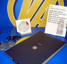 Escaner scaner CANON model scanLine 20 Buen Estado - con Drivers e instrucciones