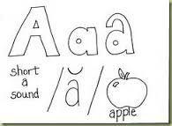 Resultado de imagen para vowels coloring sheet
