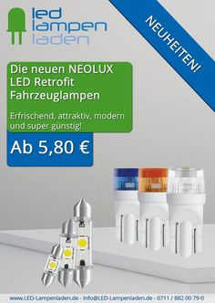 #Autofans #aufgepasst! http://www.led-lampenladen.de/led-innenraumbeleuchtung  Sichere Dir jetzt beim #LED-#Lampenladen #Markenqualität zum #super #günstigen #Preis. Mit den #brandneuen #Retrofit LED-#Autolampen von #Neolux wird dein #Auto schon ab nur 5,80 € zum absoluten #Hingucker.  Du findest deine #Freunde sollten auch davon erfahren? Dann schell #weitererzählen und #teilen. Wir sehen uns!
