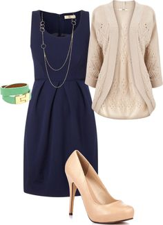 """For work"" by leannekmaxwell on Polyvore"