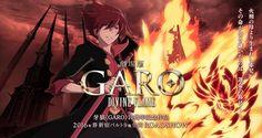Anunciada la película de Anime Garo: Divine Flame que se estrenara en Primavera del 2016.