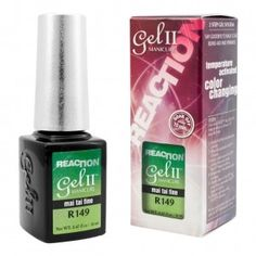 GEL II REMIX Reaction Color Change Nail Polish Mai Tai Fine