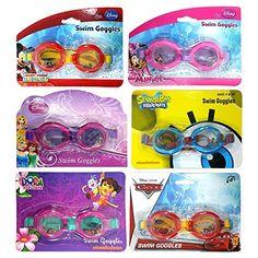 Colors May Vary Spielzeug für draußen Swimways Fish Face Marlin Pro Swim Goggles