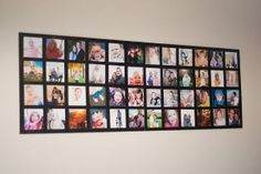 Wall Picture Collage Party Decoration