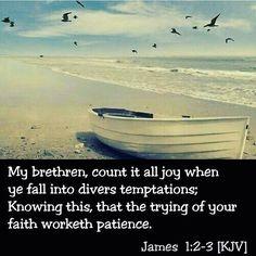 James 1:2-3 KJV -@gmx0 #BaptistMemes