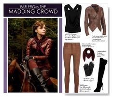 Far From the Madding Crowd Film Style by cherie-vohra on Polyvore featuring Black Rivet, MiH Jeans, Atmos&Here, Faliero Sarti, Mulberry and MaddingCrowdStyle