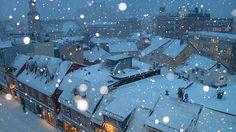 tromso snow by Ros Z, via Flickr