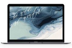 *Free* Marble Laptop Wallpaper | lark & linen
