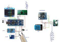часы с барометром + беспроводной термометр | Аппаратная платформа Arduino