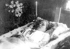 The dead were not always photographed in their caskets, as you might expect. Description from thechirurgeonsapprentice.com. I searched for this on bing.com/images