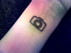 60 tatuagens de câmeras - camera- delicada