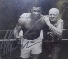 """Costantino """"Cus"""" D'Amato was an American boxing manager and trainer who handled the careers of Mike Tyson. Cus D'amato, Helio Gracie, Magic Johnson, Mike Tyson, Muhammad Ali, Hollywood Stars, Jiu Jitsu, Old School, Boxing"""