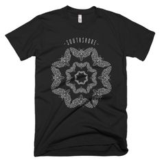 Death's Head Moth Mandala T-shirt