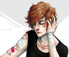anime boy with scar on his face - Buscar con Google