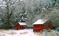 Photograph by Peggy Franz - Vintage Winter Barn ...
