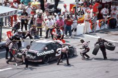 50. April 28, 1991  -   Martinsville Speedway:   Hanes 500  -    A championship-caliber pit crew helps in winning four races in one season, as well as a fifth series title.