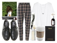 """""""beauty queen in tears"""" by velvet-ears ❤ liked on Polyvore featuring Dr. Martens, T By Alexander Wang, Aesop, Harrods, NARS Cosmetics, Le Métier de Beauté, Sachajuan, Avanessi, women's clothing and women"""