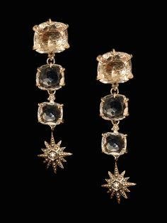 49abfb27a H. Stern Moonlight Crystal and Diamond Earrings at London Jewelers! Real  Gold Jewelry,