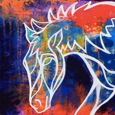 Wild at Heart 1 : Inner Power Painting