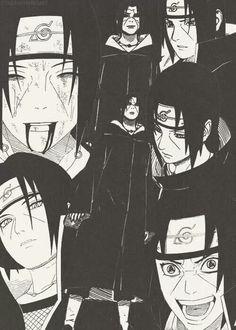 The many faces of Itachi Itachi Uchiha, Naruto Shippuden Sasuke, Anime Naruto, Sasuke Sakura, Naruto Tumblr, Wallpaper Naruto Shippuden, Naruto Wallpaper, Naruto And Sasuke, Gaara