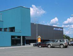 Ledo Rumai Sports Arena, Lithuania, uses PAROC sandwich panels - Paroc.com