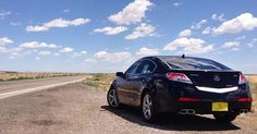 How we get our kicks. Jason P. takes on Route 66 in his #TL. #AcuraStories…