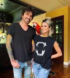 """Brittany Furlan Lee on Instagram: """"""""Put a bird on it"""" such an epic day with @cesarsway & @mrdeniro 🖤"""" Tommy Lee Motley Crue, Southern Momma, Brittany Furlan, New Hair, T Shirts For Women, Day, How To Make, Clothes, Instagram"""