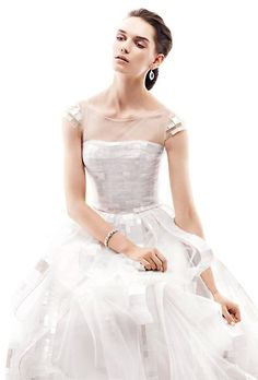 ethereal wed dress from Angel Sanchez