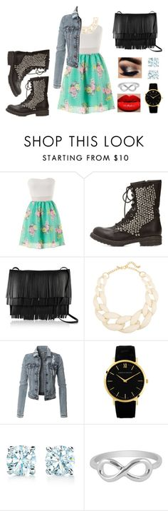 """""""Untitled 57"""" by maysunhasawattpad on Polyvore featuring Charlotte Russe, Proenza Schouler, Kenneth Jay Lane, Larsson & Jennings, Tiffany & Co. and Jewel Exclusive"""
